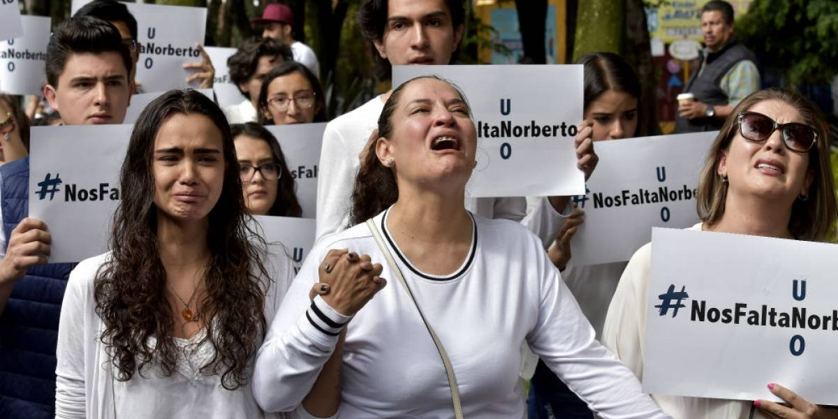 Venía por el diploma de mi hijo y me llevo un certificado de defunción: madre de Norberto