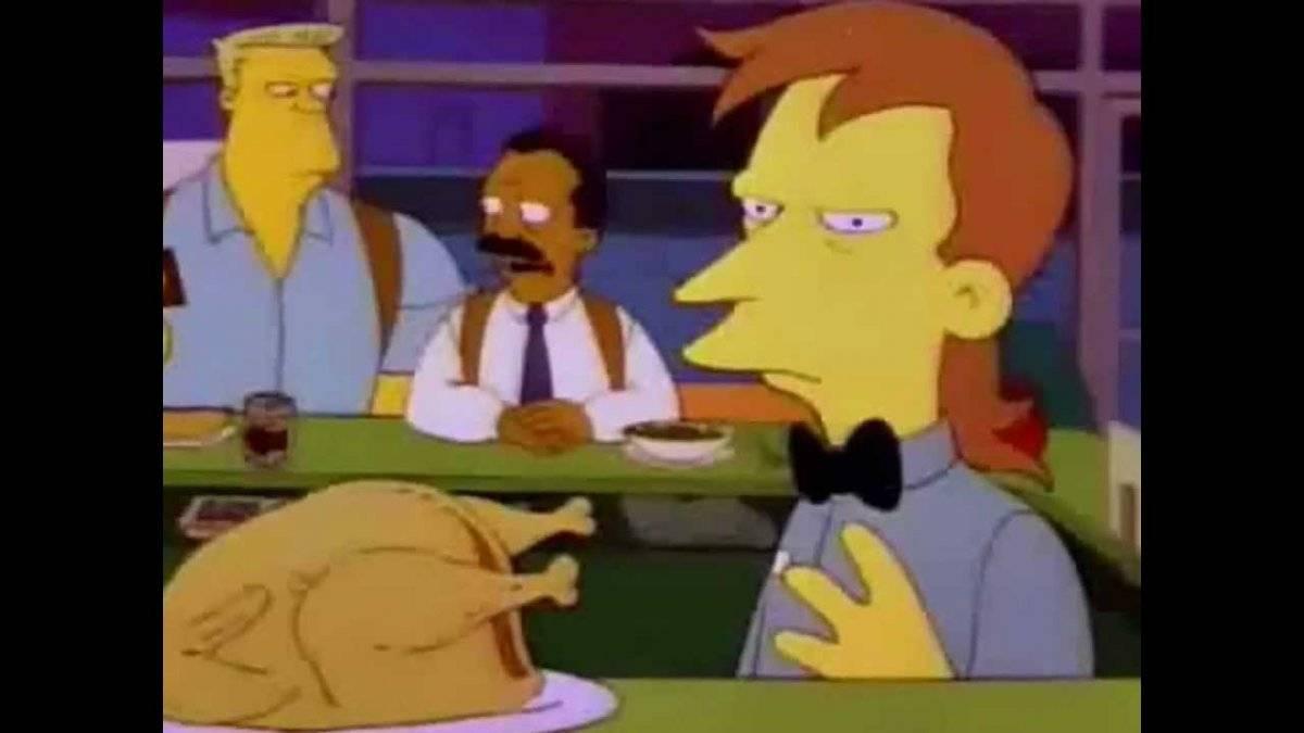 Usuarios descubren llamativa película secreta en Los Simpson