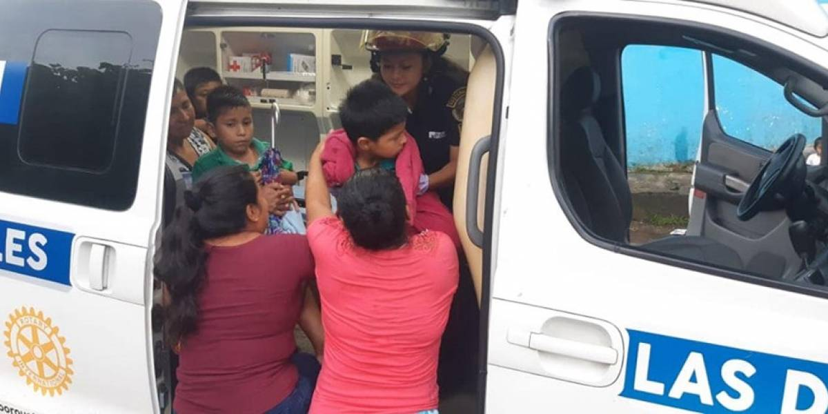 Trasladan a más de 100 niños por intoxicación en Colomba, Quetzaltenango
