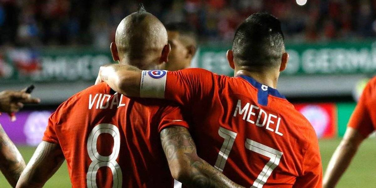 """Arturo Vidal y los problemas en el camarín de la Selección: """"Rueda tomó un problema que no le correspondía y supo manejarlo"""""""