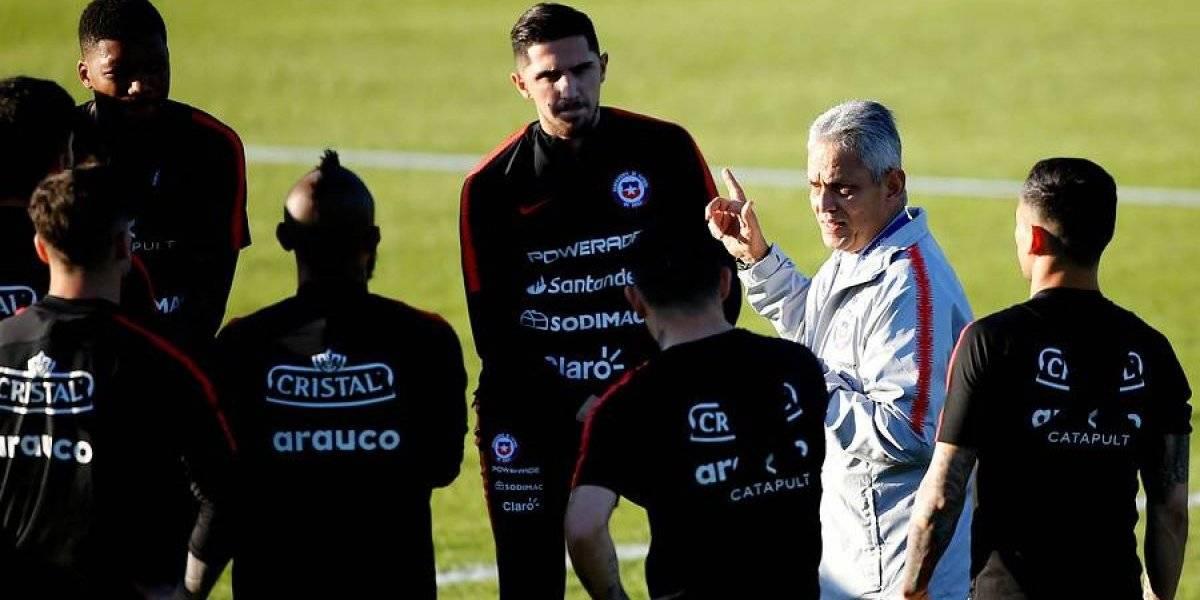 Rueda probará su última fórmula en la Roja antes del debut en Copa América ante Japón