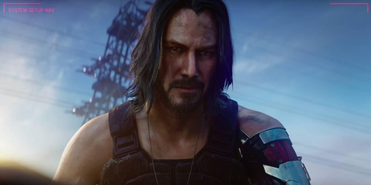 E3 2019: Keanu Reeves faz aparição surpresa e revela personagem em RPG futurista