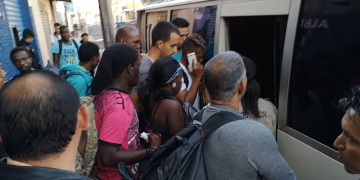 Migrantes que ingresaron ilegalmente a Guatemala son remitidos a la frontera