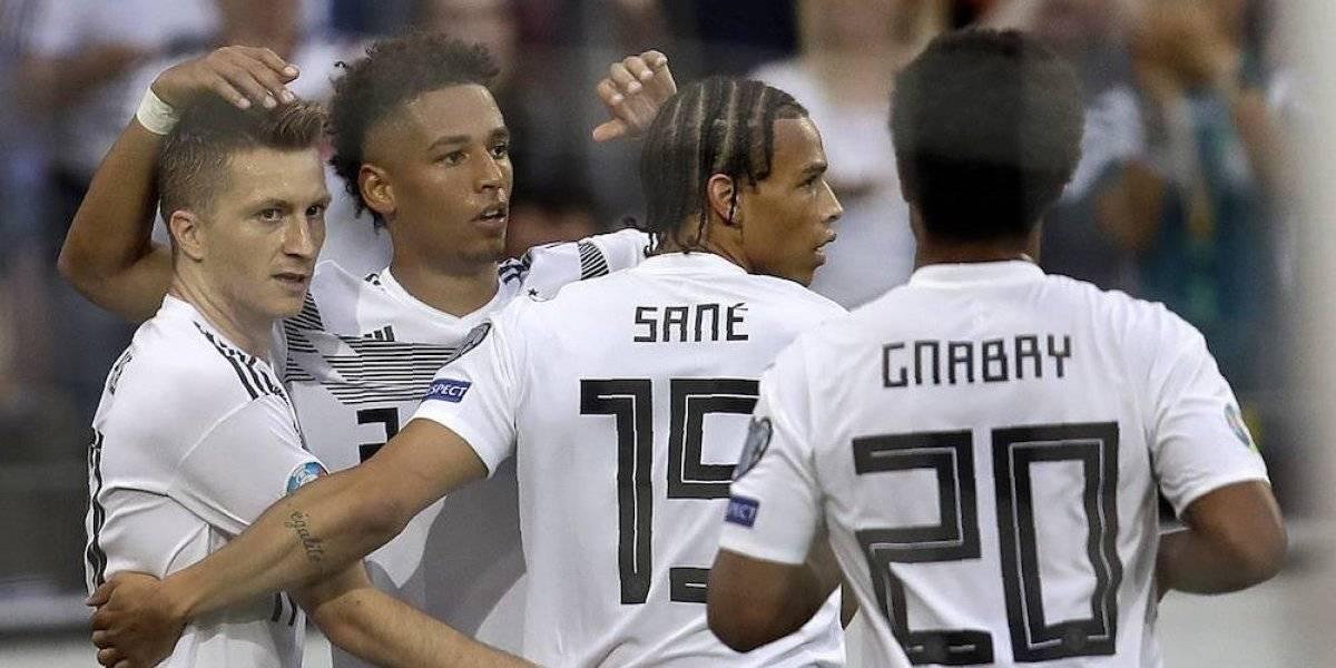 Alemania 8-Estonia 0: resumen, resultado y goles del partido