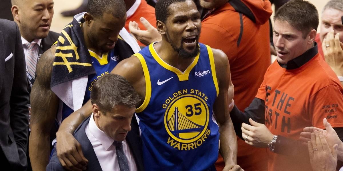 El drama de Kevin Durant tras romperse el tendón de Aquiles: Quedaría un año sin jugar en la NBA
