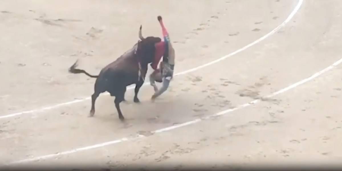 ¿Justicia divina?: torero sufre trombosis al ser atravesado por el cuerno de un toro durante corrida
