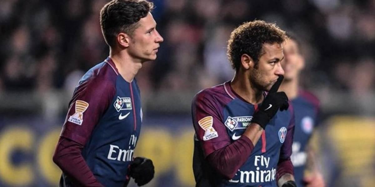 Draxler confirma su discusión con Neymar en el vestuario