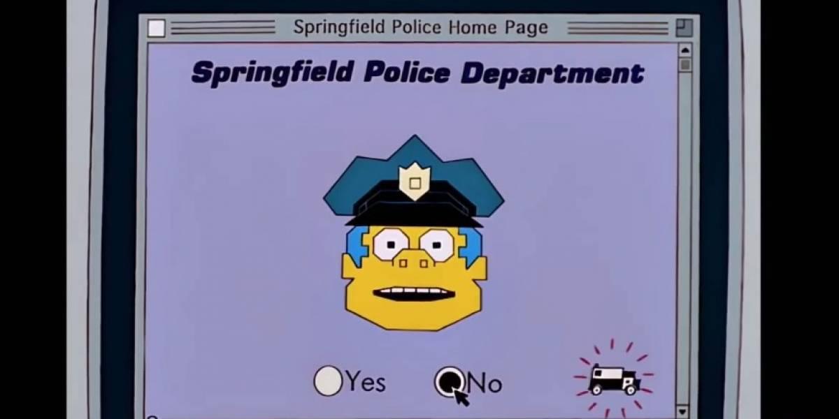"""Los Simpson lo hacen de nuevo y predicen """"Comisaría Virtual"""" de Piñera"""