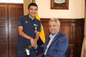 Carapaz y Moreno