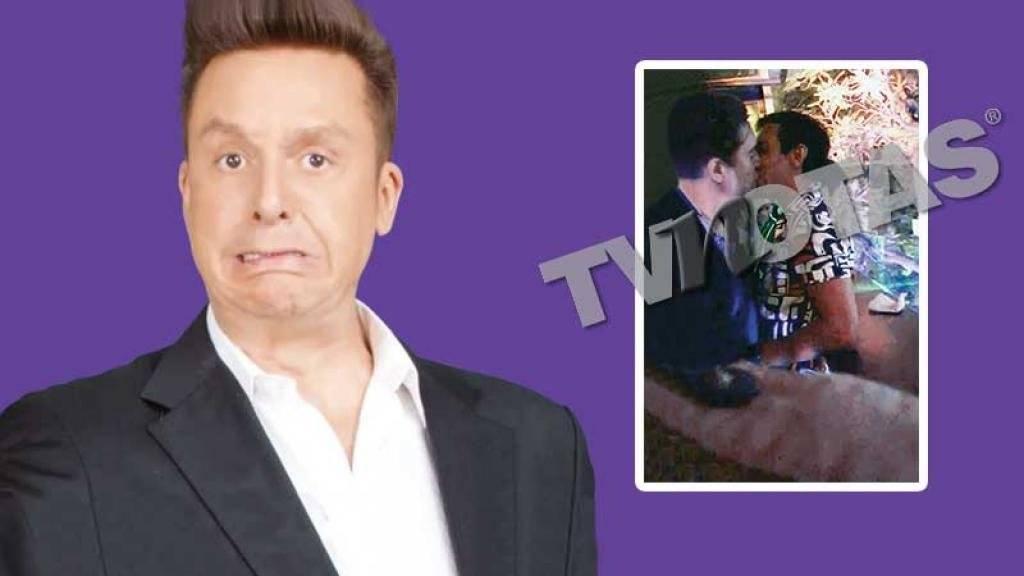 Daniel Bisogno en pleno amorío con otro hombre en antro gay