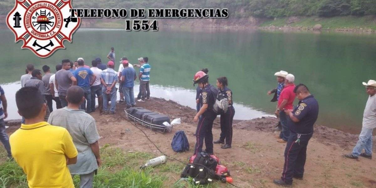 Localizan cuerpos de estudiantes desaparecidas en laguna de Jalapa
