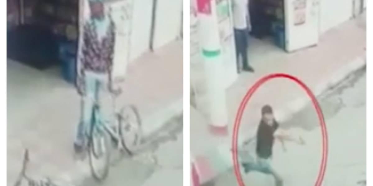 VIDEO: vecinos del suroccidente de Bogotá se defienden de los ladrones con papas bomba y armas hechizas