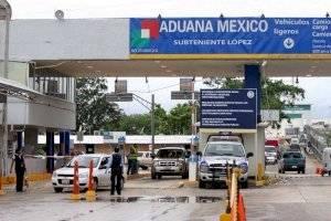 Frontera de México con Belice