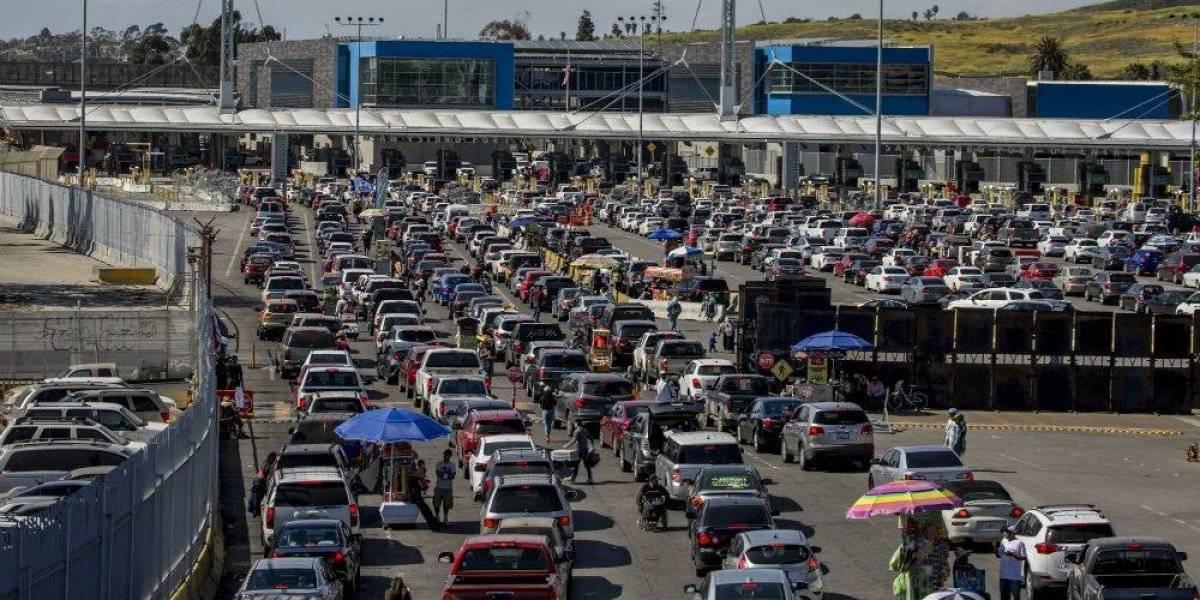 ¿Cuántos cruces fronterizos tiene México en sus 3 fronteras?