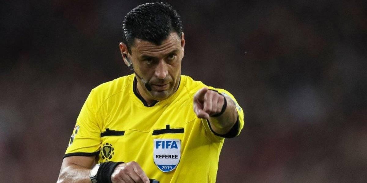 Roberto Tobar dirigirá el estreno de Argentina en la Copa América ante Colombia