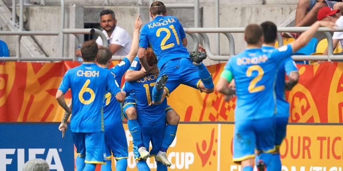 Ucrania y Corea del Sur disputarán final inédita en el Mundial Sub 20