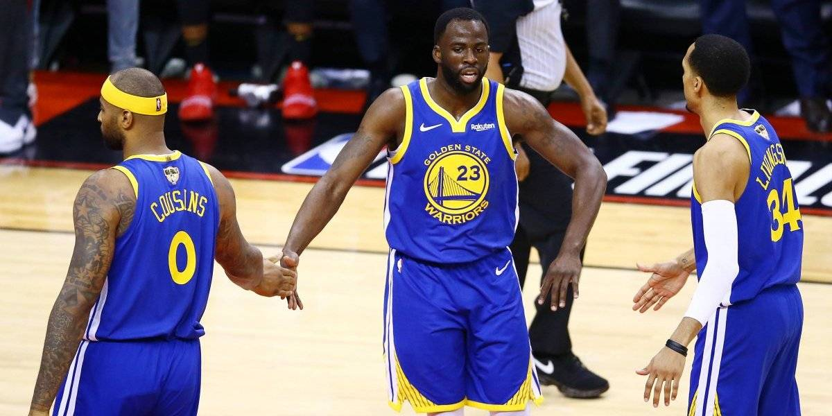 ¡Siguen vivos! Warriors gana y lleva al sexto juego a los Raptors