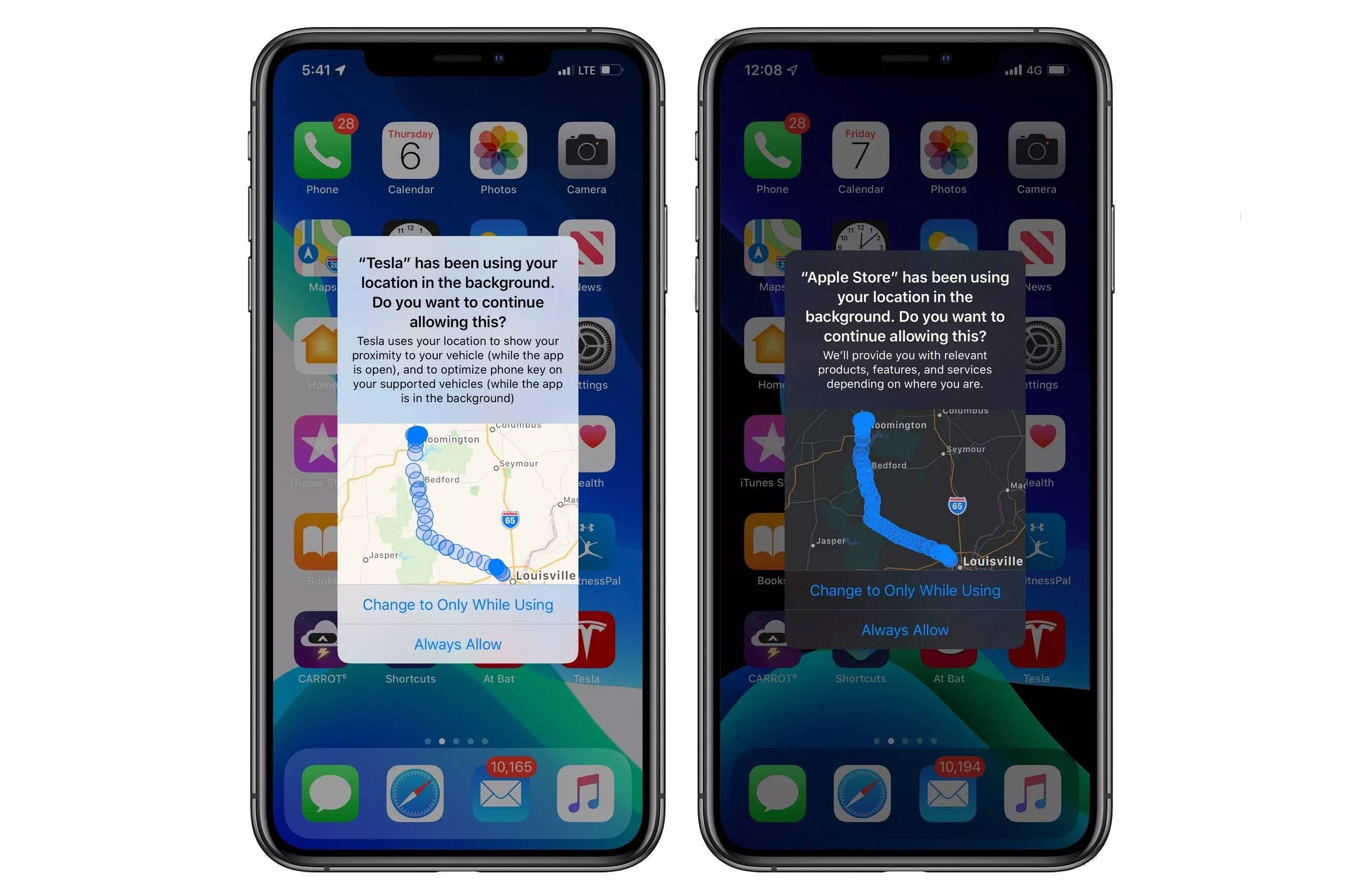 iOS 13 te mostrará un mapa de todo el seguimiento que hacen las aplicaciones a los lugares que visitas