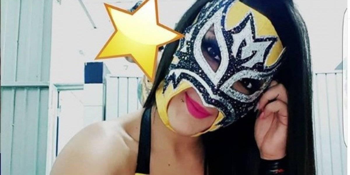 Lady Maravilla, la luchadora de AAA que roba suspiros