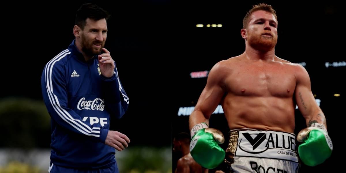 Messi, el deportista mejor pagado; Canelo, dentro del top ten