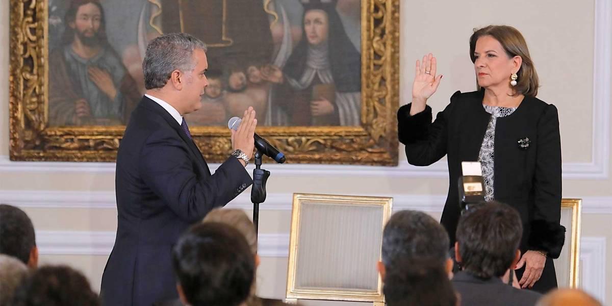 Margarita Cabello Blanco se posesionó como ministra de Justicia