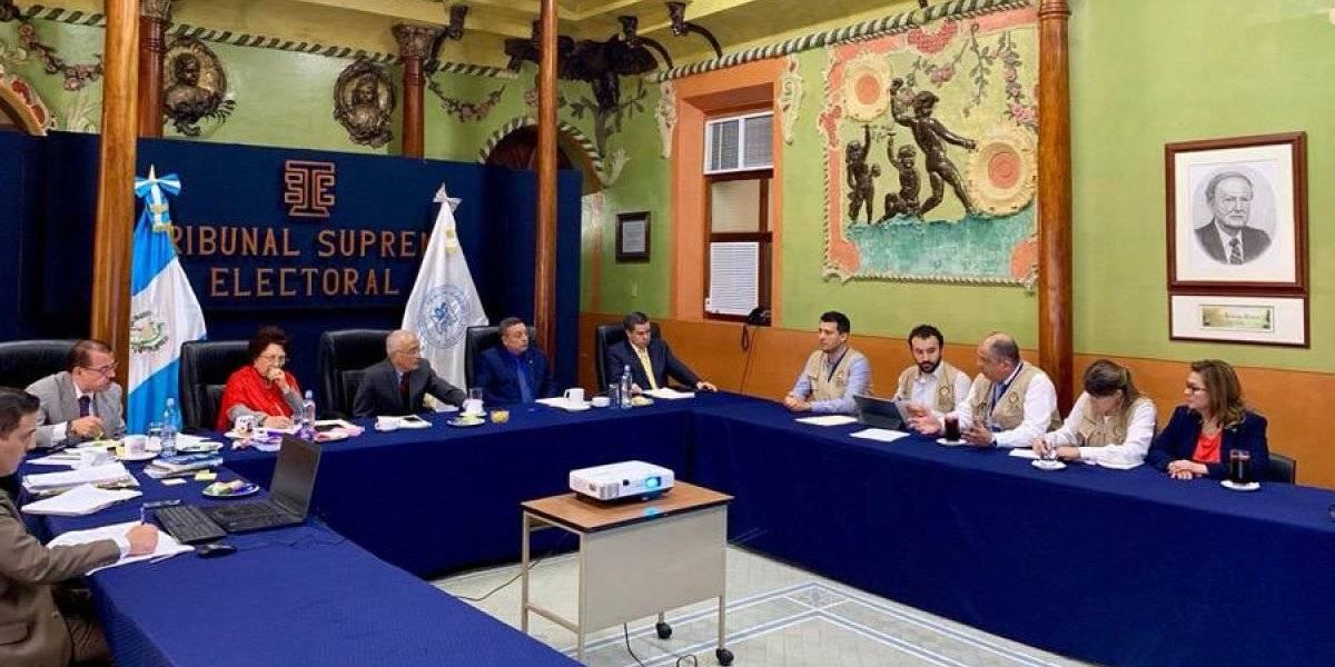 Misión de Observación de OEA acude al TSE
