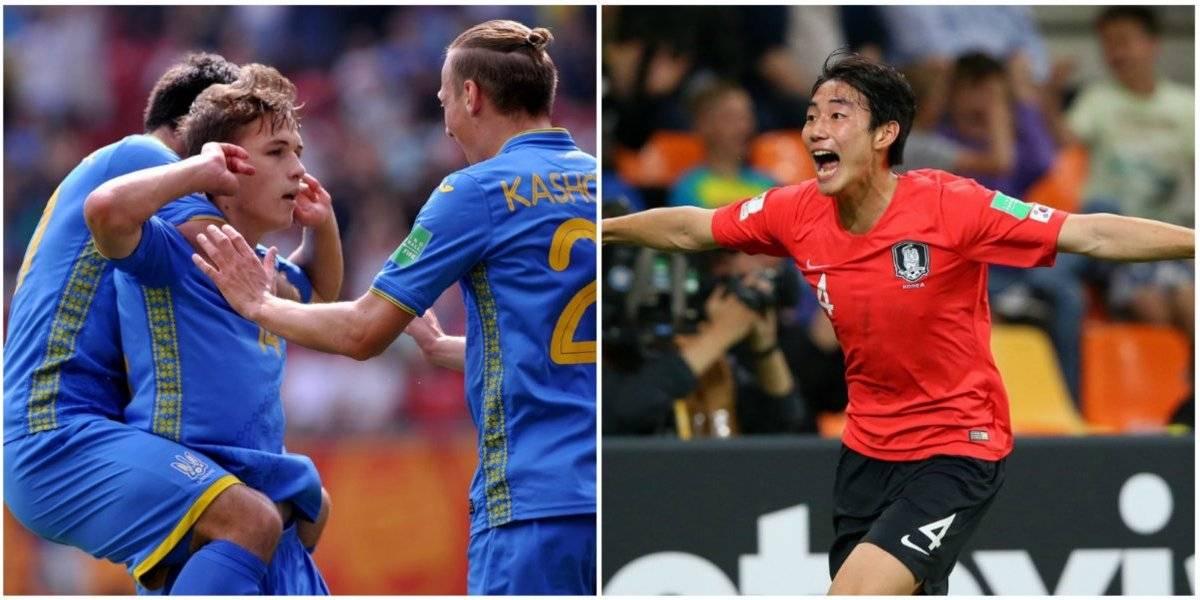 Ucrania y Corea del Sur disputarán final inédita del Mundial Sub 20