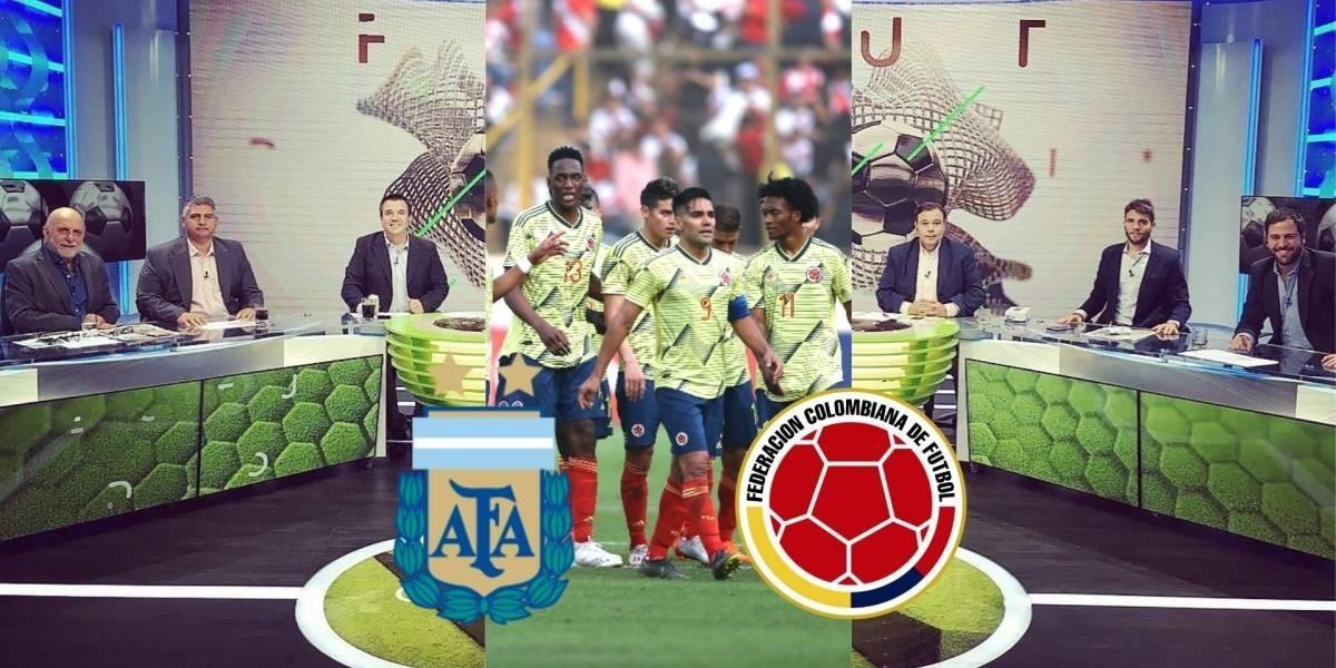Periodistas divididos por debut de Argentina VS Colombia en Copa América