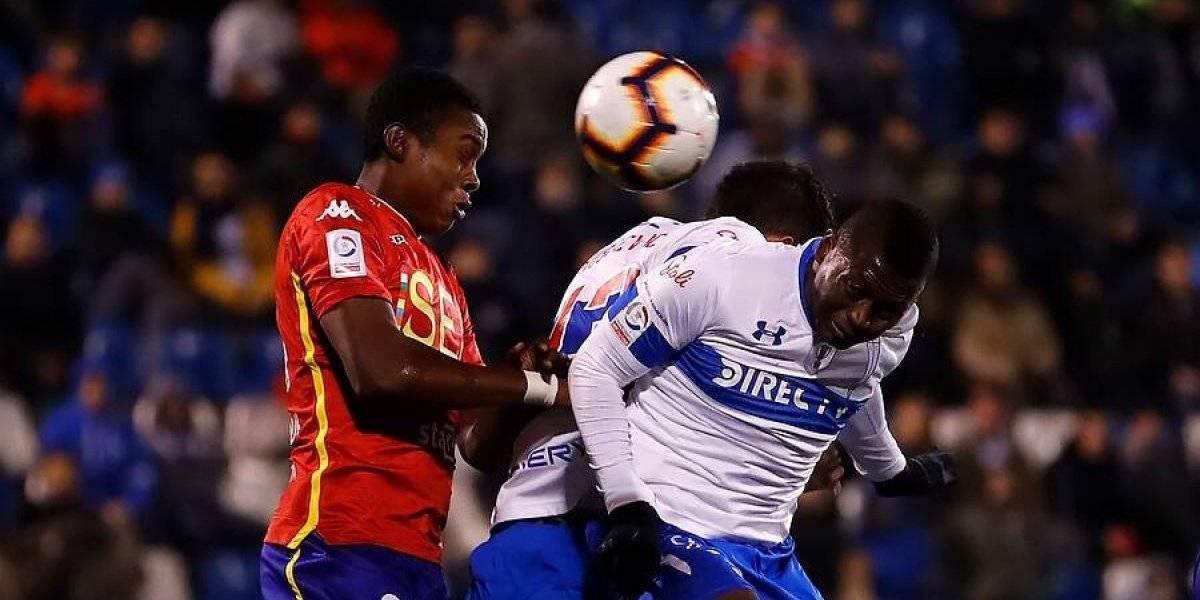 La UC comienza a ceder terreno en el Campeonato Nacional e igualó con Unión Española