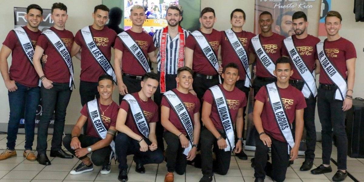 Imponen bandas a los aspirantes a Misters of Puerto Rico 2019