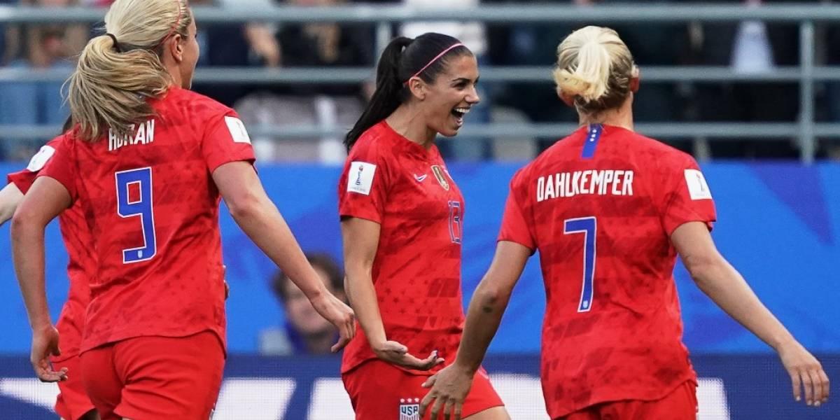 ¡Dominio total! Estados Unidoslograrécord y anota 13 goles en el Mundial Femenino
