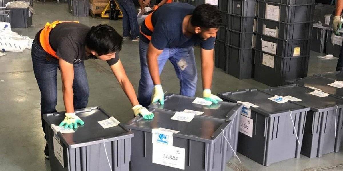 TSE comienza envío de materiales electorales al interior del país