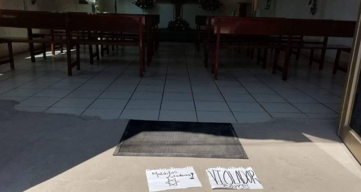 Vandalizan más sedes de la Iglesia de la Luz del Mundo en Jalisco