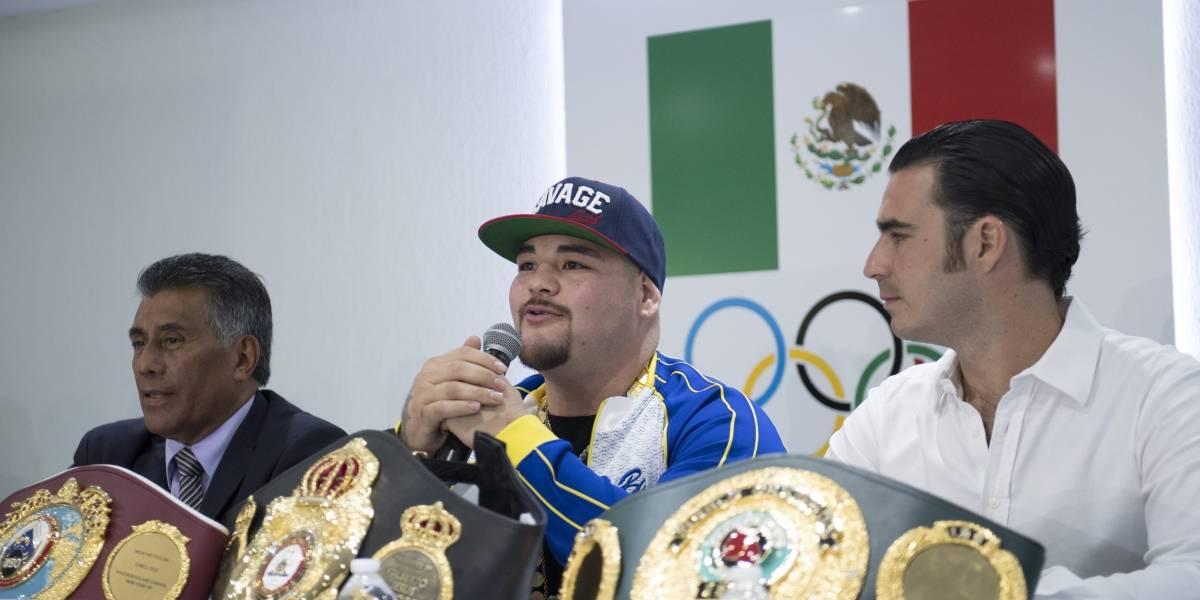 CONABOX y empresarios piden a Andy Ruiz defender sus títulos en México