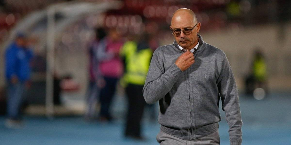 """Alfredo Arias no está conforme con el fútbol de la U: """"Me voy preocupado porque jugamos mal"""""""