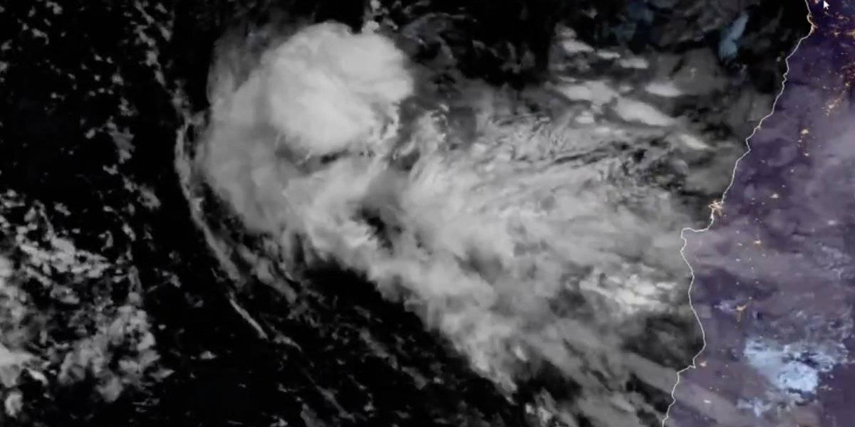 """Satélite capta """"impresionante desarrollo convectivo"""" del sistema frontal que afectará a gran parte del país"""