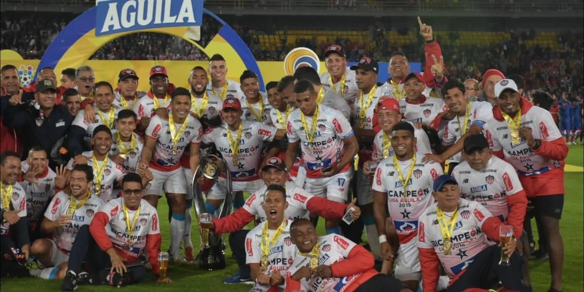 ¡Ahora sí, celébralo! Junior, campeón de la Liga Águila 1-2019