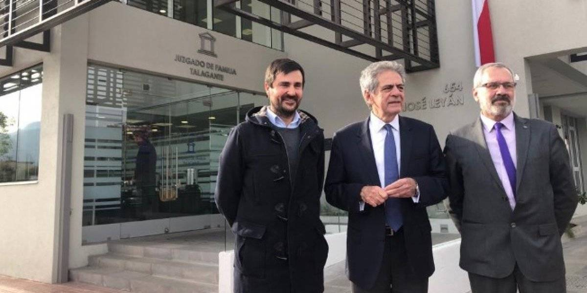 Es un edificio energéticamente eficiente: presidente de la Corte Suprema inaugura nuevo Juzgado de Familia de Talagante