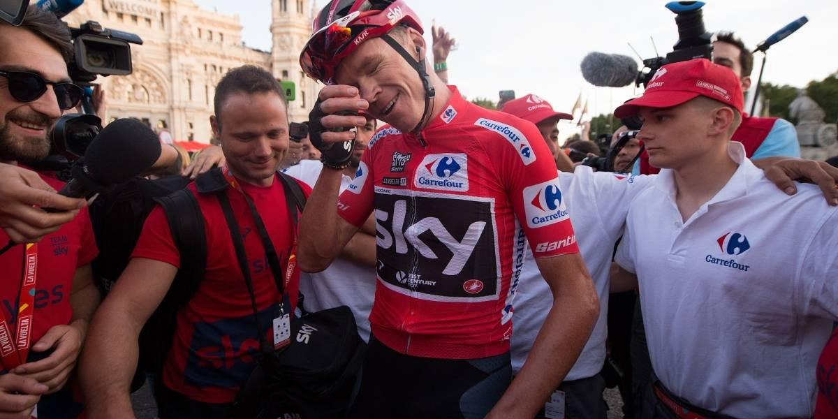 Chris Froome se fractura el fémur y se pierde el Tour de Francia