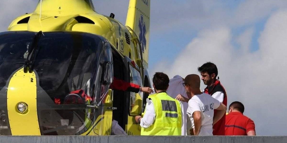 Dan a conocer estado de gravedad de Christopher Froome tras terrible accidente