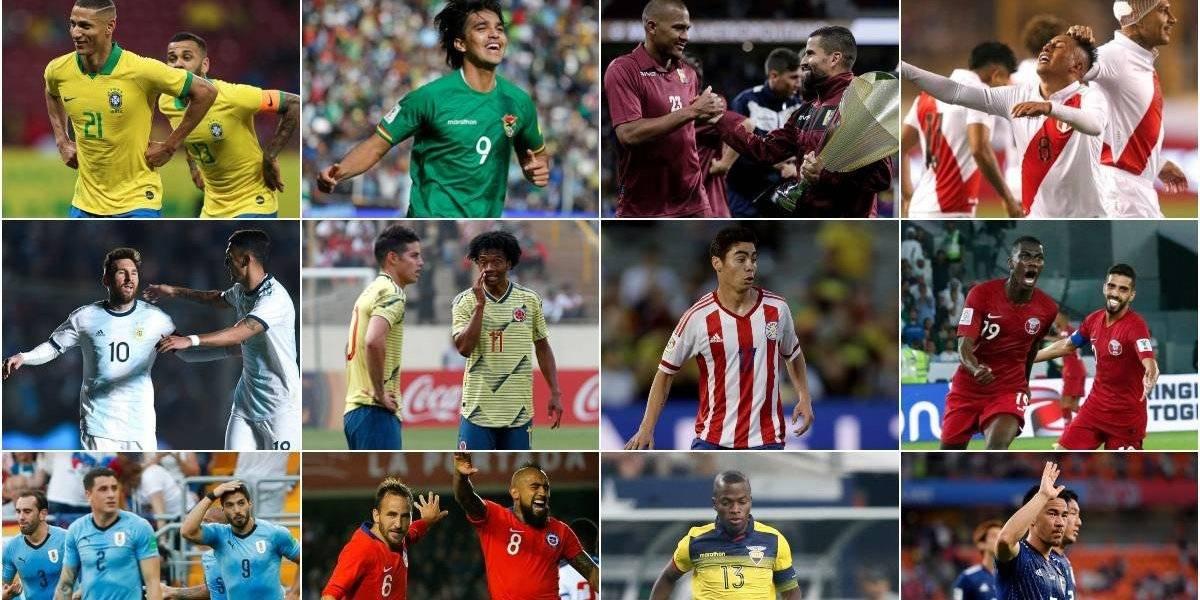 ¿Cuál es la más potente? Las formaciones que proyectan las selecciones para la Copa América