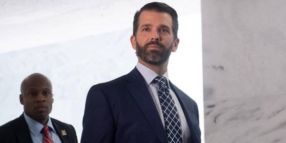 Hijo de Trump acude al Capitolio para confirmar testimonio sobre injerencia rusa