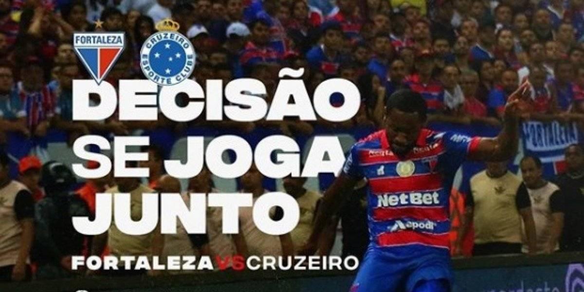 Campeonato Brasileiro 2019: como assistir ao vivo online ao jogo Fortaleza x Cruzeiro