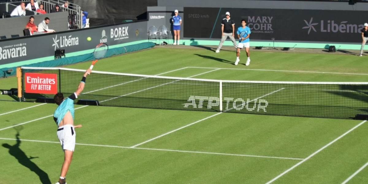 Así vivimos el postergado triunfo de Cristian Garin en el ATP 250 de 's-Hertogenbosch
