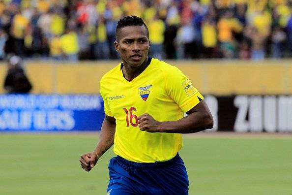 Antonio Valencia Getty Images