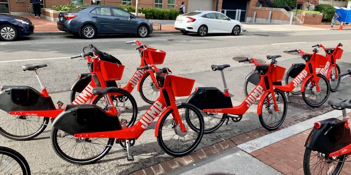 Probando las bicicletas eléctricas Jump de Uber en Washington, D.C #UberElevate