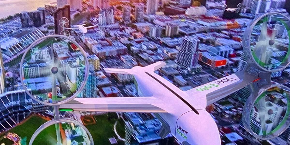 Uber Eats anuncia las primeras pruebas de entregas con drones #UberElevate