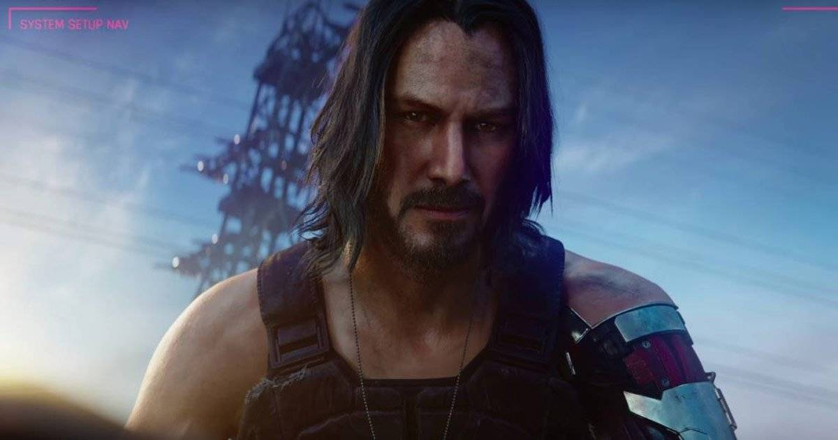 Cyber Punk 2077 game Keanu Reeves