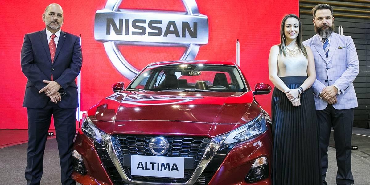 Nissan presenta el nuevo Nissan Altima en Autoshow 2019