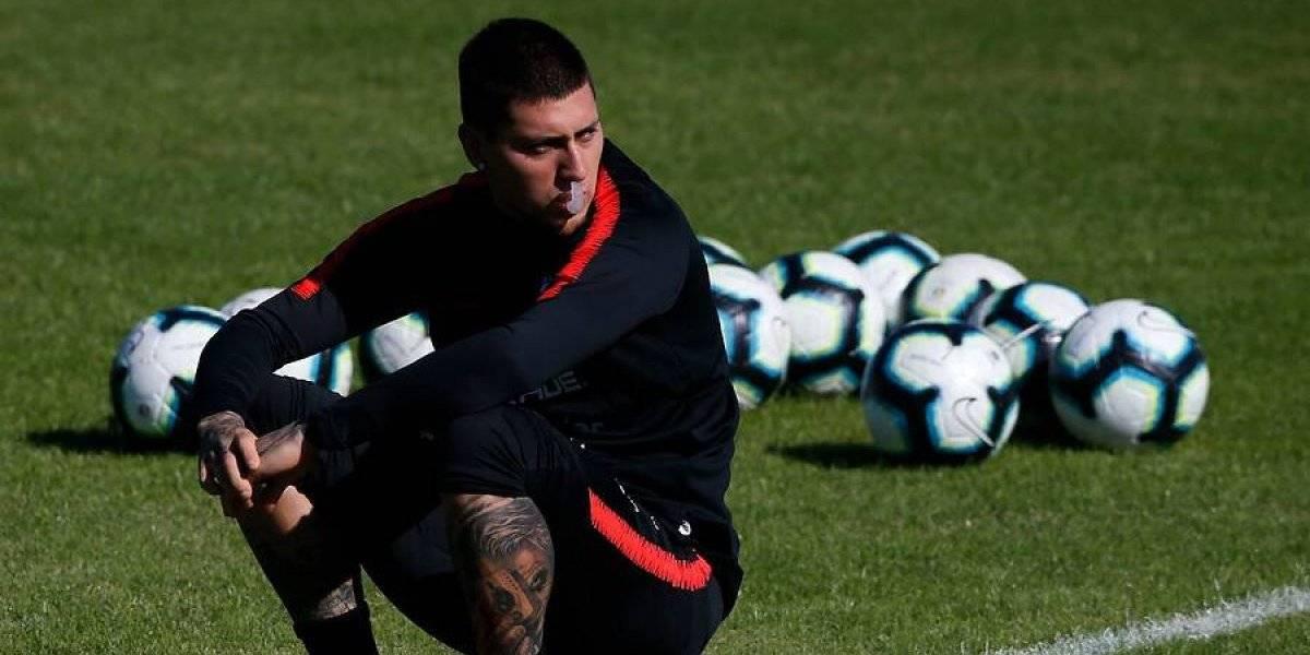 Nicolás Castillo enciende la alerta en la Roja y podría perderse el debut de la Copa América